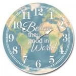 Believe in Good Map Clock