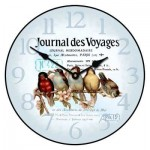 Birds on a Line Clock