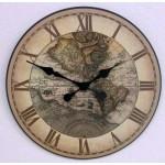 1596 World Map Clock
