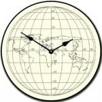 Streamline Map Clock