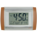 Large LCD Atomic Digital Calendar Clock