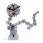 Gear Table Clocks