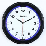 "13"" LED Plastic Wall Clock"