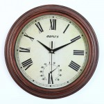 "12"" Outdoor/Indoor Wall Clock"