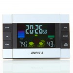 Color LCD Multi-function Table Alarm Clock