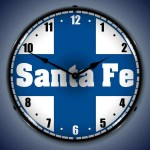 Sante Fe Railroad Clock